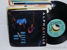 "ALPHAVILLE Dance With Me 7"" 45 Atlantic 7-89415 Vinyl VG+ Picture sleeve"