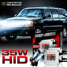 9012 HIR2 Xenon HID Headlight Headlamp Conversion Kit CANBUS Ballasts - 6000K
