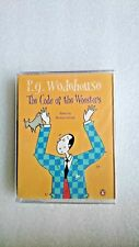 P.G. Wodehouse The Code of the Woosters 2 x Cassettes NEW and SEALED