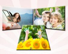 3x Ihr Foto, Bild auf echter Leinwand 40x60 cm oder 60x40 cm