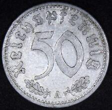 1935 A | Germany 50 Reichspfennig | Coins | KM Coins