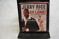 Go Long! by Jerry Rice (2007, CD, Unabridged)