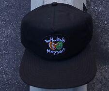 New The Hundreds Skate Kenny Scharf Wear Black Mens Zip- Snapback Hat One Size