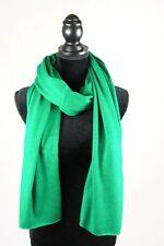 Scarf Pure Cashmere Knit Men Women Grey Soft Red Wool Black Warm Wrap Shawl