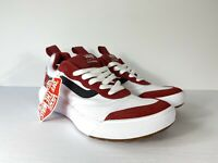Vans UltraRange Rapidweld Red Dahlia White Shoes VN0A3MVUTKQ New W/Box Men's 7