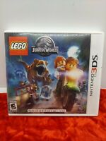 LEGO Jurassic World (Nintendo 3DS) w/Case & Manual FREE FAST SHIPPING!!
