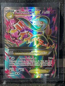 Pokemon XY Mega Gardevoir EX UR Full Art 112/114 FRENCH VERSION Utra Rare