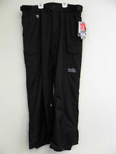QUIKSILVER Men's SIDESLIP Snow Pants - Black - XLarge - NWT