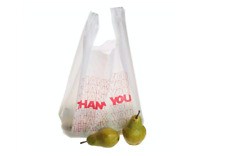 T Shirt Thank You Plastic Grocery Store Shopping Carry Out Bag Recyclable 308 Pc