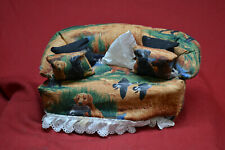 HANDMADE  Kleenex Tissue Box Cover Couch Sofa * DUCK HUNTING THEMED