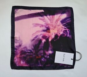 Paul Smith Pocket Square Photographic Print 100% Silk