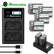 EN-EL3a EN-EL3 Battery +LED Dual USB Charger for Nikon D50 D70 D70s D80 D90 D100