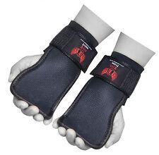 Boom per il sollevamento pesi palestra bodybuilding BAR cinturini da polso palmo Supporto Fitness Gear