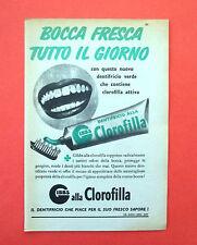 D202 - Advertising Pubblicità - 1953 - GIBBS DENTIFRIIO ALLA CLOROFILLA
