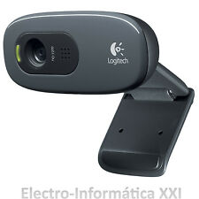 Webcam  Logitech 3mpx Hd 720p Reducción De Ruido Panoramica C270 Web Cam
