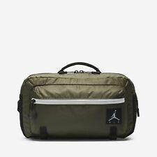 3ce185cc7277ca Jordan Jumpman Air Crossbody Bag Olive Canvas Size LARGE 9A0089 X34 NWT
