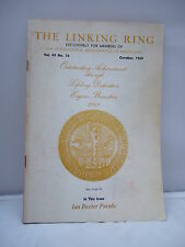 The Linking Ring - International Brotherhood of Magicians - Oct 1969 Magazine