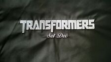 Transformers 2007 crew jacket gift color black size XS prop costume