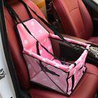 Portable Dog Car Seat Belt Booster Travel Carrier Folding Bag Pets Cat Dog Puppy