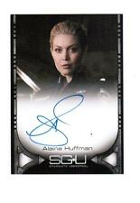 Stargate Universe 1  SGU -  Autograph Card signed by Alaina Huffman as Tamara
