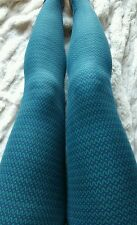 New Lularoe OS Blue Sweater Leggings Winter Holiday design!