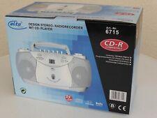 elta Stereo Radiorecorder Kassettenrekorder programmierbarer CD-Player NEU OVP