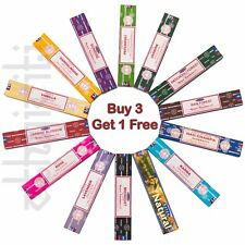 Satya Nag Champa Genuine Incense Stick Insence Joss Mixed Scent Multi BUY 3 GET1