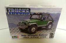Revell Green Jeep Wrangler Rubicon 1:25 Scale Model Truck Kit New in Sealed Box