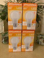 4(packs)OSRAM SYLVANINValue Led Bulb, A19, 60 W, 8.5 W, 2700K,800 Lumens, 10 yr