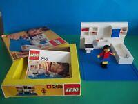 Lego 265 - salle de bains - En Boite Avec Notice - Set De 1974 Rare Vintage