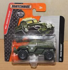 MILITARY POLICE ROAD RAIDER / Militär-Polizei Feldjäger MBX Matchbox Modell  NEU