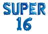 Girls/Boys Sweet 16 Super 16 16th Birthday Party Celebration Decor foil balloons