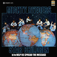 """MIGHTY RYEDERS '' STAR CHILDREN """" / """" HELP US SPREAD THE MESSAGE """" NEW SEALED 7"""