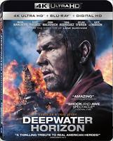 Deepwater Horizon (4K Ultra HD + Blu-ray. 2-Disc Set, 2017) Free Shipping
