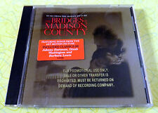 The Bridges of Madison County [Original Soundtrack] ~ Music CD ~ Rare Promo OST
