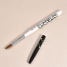 Natural Kolinsky Sable Brushes Acrylic Nail Brush Professional Nail Art Tool NEW