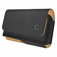 Cellet Noble Premium Leather Case with Heavy Duty 360 Degree Swivel Clip