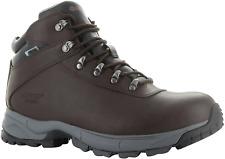 Hi-Tec Eurotrek 3 III Waterproof Mens Leather Walking Hiking BOOTS Brown UK 10