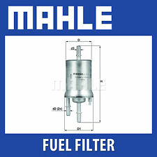 Mahle Fuel Filter KL572 - Fits Audi A3, Seat, Skoda, VW - Genuine Part