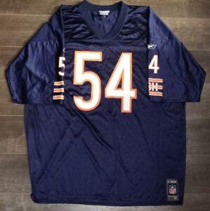Vintage Reebok Chicago Bears Brian Urlacher XXL Jersey