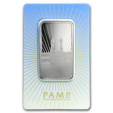 1 oz Silver Bar - PAMP Suisse Religious Series (Ka' Bah, Mecca)
