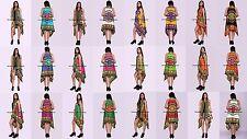 5 PCs LOT Dashiki Women Floral Loose Casual Cotton Cardigan Jacket Kimono Coat