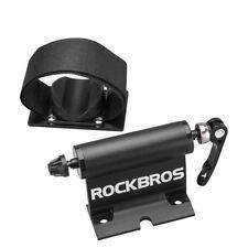 ROCKBROS  Car Truck  Bike Quick-release Alloy Fork Lock Roof Mount Rack Black