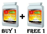BUY + FREE 1 x120  SUNLESS TANNING CAPSULES-( FAST TAN )-SELF TANNER- FAKE TAN-
