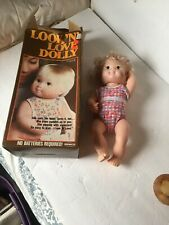 Look 'N' Love Dolly By Remco - 1978 W Org Box