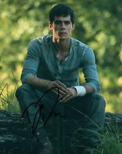 Dylan O'Brien Actor Maze Runner Hand Signed 8x10 Autographed Photo COA