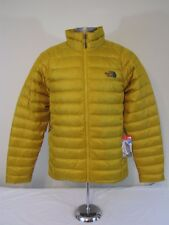 The North Face Mens MEDIUM Trevail 800 Down Full Zip Jacket - Arrowwood Yel NWT