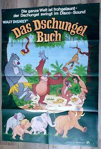 Filmplakat: Walt Disney Das Dschungelbuch
