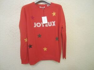Chinti And Parker Wool-Cashmere-Blend Women's Sweater In size M
