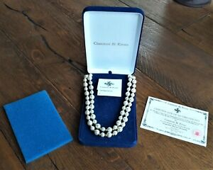 Camrose And kross Jacqueline kennedy Necklace + certificate of authenticity
